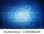 2d rendering cloud computing   Shutterstock . vector #1150486634