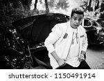 stylish hipster arab man guy... | Shutterstock . vector #1150491914