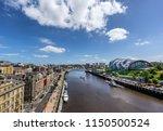 newcastle upon tyne quayside    Shutterstock . vector #1150500524