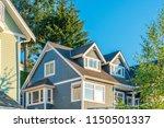 a perfect neighborhood. houses... | Shutterstock . vector #1150501337