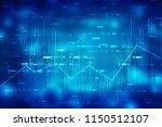 2d rendering stock market...   Shutterstock . vector #1150512107
