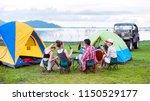 group asian of man and women...   Shutterstock . vector #1150529177