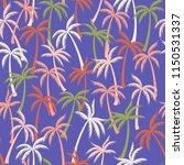 Coconut Palm Tree Pattern...