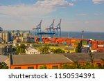 odessa  ukraine   august 2018 ... | Shutterstock . vector #1150534391