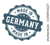 made in germany stamp label | Shutterstock .eps vector #1150541627