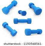 blue womens light weight... | Shutterstock . vector #1150568561