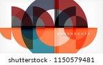 minimal circle abstract... | Shutterstock .eps vector #1150579481