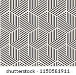 vector seamless pattern. modern ... | Shutterstock .eps vector #1150581911