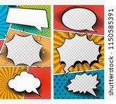 instagram stories template.... | Shutterstock .eps vector #1150585391