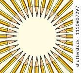 hand drawn vector doodle... | Shutterstock .eps vector #1150607297