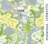 tracery seamless pattern.... | Shutterstock .eps vector #1150615721