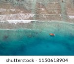 beautiful aerial view of blue... | Shutterstock . vector #1150618904