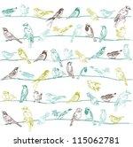 Birds Seamless Background   Fo...