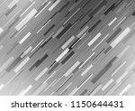 light silver  gray vector cover ... | Shutterstock .eps vector #1150644431