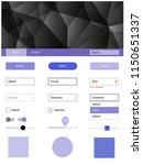 light purple vector wireframe...