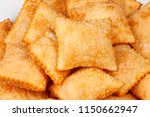 pastel  brazilian snack  | Shutterstock . vector #1150662947