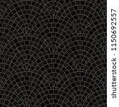 seamless mosaic floor pattern.... | Shutterstock .eps vector #1150692557