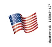 usa flag isolated | Shutterstock .eps vector #1150694627
