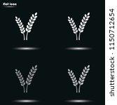cereal flat grayscale vector... | Shutterstock .eps vector #1150712654
