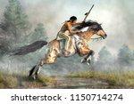 A Native American Warrior Ride...