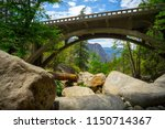 rocky canyon and valley view...   Shutterstock . vector #1150714367