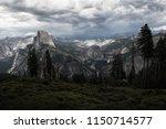 wide yosemite valley glacial ...   Shutterstock . vector #1150714577