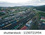 kandalaksha  russia   june 10 ... | Shutterstock . vector #1150721954