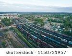 kandalaksha  russia   june 10 ... | Shutterstock . vector #1150721957