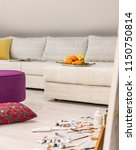 interior of a painting studio... | Shutterstock . vector #1150750814