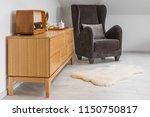 interior of a loft apartment... | Shutterstock . vector #1150750817