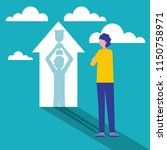 business people concept | Shutterstock .eps vector #1150758971