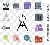 set of 13 simple editable icons ... | Shutterstock .eps vector #1150773767