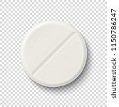 vector realistic 3d white... | Shutterstock .eps vector #1150786247