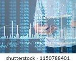 businessman plan graph growth... | Shutterstock . vector #1150788401