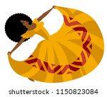 african dance dancer | Shutterstock .eps vector #1150823084