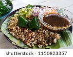 """leaf wrapped bite size """"miang... 