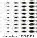 vector halftone background... | Shutterstock .eps vector #1150849454