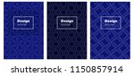 dark blue vector layout for...