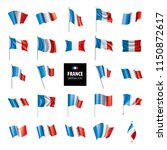 france flag  vector illustration | Shutterstock .eps vector #1150872617