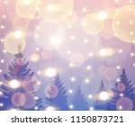beautiful background with... | Shutterstock . vector #1150873721