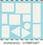realistic detailed 3d blank... | Shutterstock .eps vector #1150891667