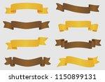 nice vintage ribbon elements... | Shutterstock .eps vector #1150899131