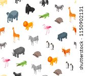 wild animals seamless pattern... | Shutterstock .eps vector #1150902131