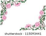 thai art painting frame | Shutterstock . vector #115093441