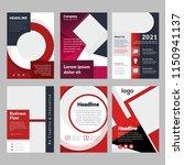 creative 6 item flyer bundle... | Shutterstock .eps vector #1150941137