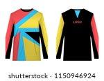 templates of sportswear designs ... | Shutterstock .eps vector #1150946924