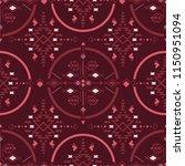 tribal seamless pattern...   Shutterstock .eps vector #1150951094
