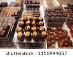 belgium traditional chocolate... | Shutterstock . vector #1150994057