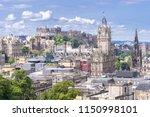 edinburgh castle with cityscape ... | Shutterstock . vector #1150998101
