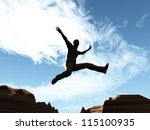 freedom computer generated 3d... | Shutterstock . vector #115100935